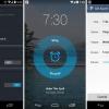 Pandora para Android recibe una nueva actualización añade un reloj de alarma