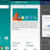 Apex Launcher 3.0 cambios de interfaz de usuario con diseño de materiales