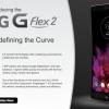AT & T, Sprint y US Cellular para ofrecer el LG G Flex 2 Pronto, Volcán Rojo Color de Coming exclusivamente a Sprint