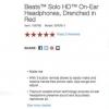 Deal: Beats auriculares a solas de HD por $ 79.95 (precio regular $ 169.95) en el Staples