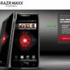 MAXX RAZR Droid estará disponible el 26 de enero