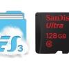 ES File Explorer devuelve algo de apoyo tarjeta SD en el dispositivo KitKat (raíz requerido)