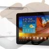 Galaxy Tab 10.1 Android Cream Sandwich 4.0.4 Hielo actualización disponible para el modelo GT-P7500