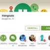 Google Hangouts Pases 1 mil millones de instalaciones en el Play Store