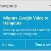 Google Voice fusión en Hangouts, a partir de ahora