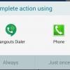 Actualización Hangouts Marcador ahora le permite realizar llamadas desde dentro de otras aplicaciones