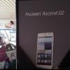 Huawei libros al contado de 5 pulgadas D2 Ascend en el CES 2013
