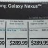 Insider revela Galaxy Nexus estará disponible en Verizon Wireless y Costco Tiendas el 15 de diciembre