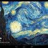 Muzei, las famosas obras de arte de pantalla en vivo