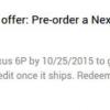 Nexus 6P agotado en los EE.UU. Google tienda