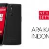 OnePlus Uno Lanzamiento En Indonesia, Pre-Pedidos de inicio 27 de enero en exclusiva a través de lazada