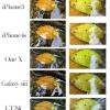 13 la cámara del Sony Xperia TX MP halagüeños contra Galaxy S3 y 8 tiradores de iPhone 5 MP
