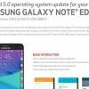 Samsung Galaxy Note Edge En Verizon Obtiene Android Lollipop En Última actualización OTA