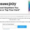 Samsung es la gente que activar Samsung pagar un cargador inalámbrico gratuito Hasta 08 de noviembre Dar