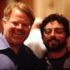 Sergey Brin vista utilizando el Google Glasses