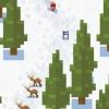 Esquí Yeti Mountain es un Casual Ski alpino aventura con Yetis que comen gente