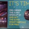 Sony Xperia Z1 (Honami) puede venir con SmartWatch gratuita en algunos mercados