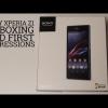 Sony Xperia Z1 impresiones unboxing y primeras