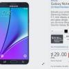 AT & T, Verizon, Sprint, T-Mobile, y US Cellular anuncian planes para el Galaxy S6 Edge + Y Nota Galaxy 5, Best Buy Ofertas $ 200 Comercio-In