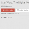 Ahora puedes pre-ordenar el Star Wars Collection Digital En Google Play Por $ 89.99 (o $ 19.99 por película), disponible 10 de abril