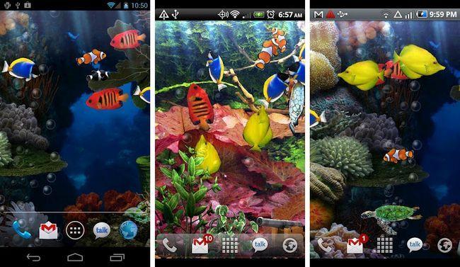 Las Mejores Acuarios Y Peces Live Wallpapers Para Android