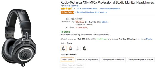 Audio Technica acuerdo amazon